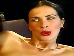 Anal... Mind-blowing Slim Italian Honey Wambammed On Stage... Vintage