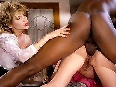 Barbarella, Moana Pozzi, Sean Michaels in well-hung ebony retro porn star doing mexican chicks