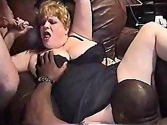 InterracialPlace.org - Vintage VHS BBW femme