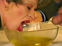 Grandma drinks piss & urinates it out by satyriasiss