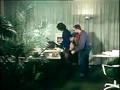 german vintage anal invasion clip - secretary gets booty-fucked