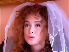 Sizzling ginger bride fucks an Indian honey with her husband