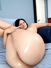 A big assed Latina hottie getting fucked good and hard
