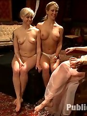 Two pretty presents to please the Princess. Pitted against each other in a devious game- which blonde slut will take more pain for the other? Maitresse Madeline helps to celebrate Princess Donna's birthday in style.