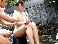 Babe Kanako Iioka relaxes after audition OutdoorJp.com