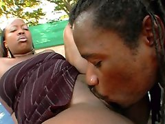black chick with big ass fucking