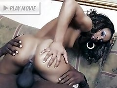 Black cutie Misty Stone meets up with her sustained fuckbuddy and rides his cock with her pussy