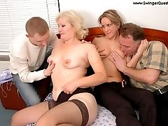 horny couples fucking and changing partners
