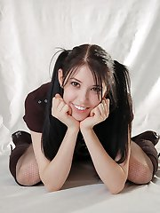 A Girl Called Willow Fishnet Pantyhose Misty Gates