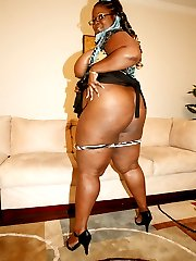 Sabrina Love is one fat ass black MILF that I've had my eye,
