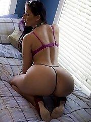 I got the impression that her ass got bigger