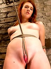 Beautiful newcomer Ashley Lane has been tied up 'once or twice