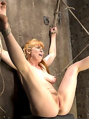 Penny is a dirty little slut and she's not afraid to admit it. She loves to be tied up and made to suffer in the bondage. Her pussy drips as soon as the rope comes out and she grinds her ass in to the Pope every time he gets close to her. She is such a rope slut and we love her for it, and by love we make sure she is tormented to her breaking point. We abuse her body, then violate her pussy, ass, and her throat. We leave no hole un fucked! If you're gonna act like a whore, then we will treat you like one.
