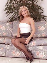 hot horny fuck ready cute teen in stockings