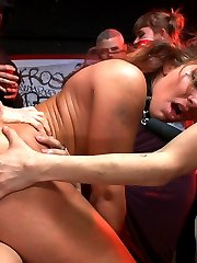 High impact action, hard fucking! The Princess of perversion and her assistant in sin drag Savannah to a grungy punk show to be humiliated and fucked in every way in front of a rowdy audience. Hot babes in the audience, squirt all over the place, anal pounding and bondage- who could ask for more?