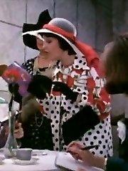 Annette Haven, C.J. Laing, Constance Money in antique fuck clip