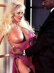 Pornstar with massive boobs