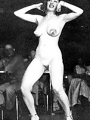 Sweetheart tempest storm poses