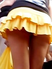 The intimate details of girls upskirt