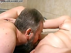 She loves deep-throating and fucking the aged neighbour