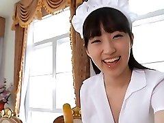 شهوانية الآسيوية خادمة تنورة اللباس الداخلي tease