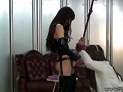 Japán Domina Emiru BDSM Strapon Kurva