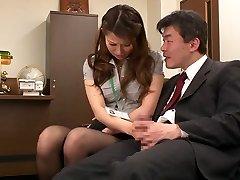Nao Yoshizaki in Fuck-a-thon Slave Office Damsel part 1.2