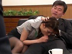 Nao Yoshizaki in Sex Slave Office Girl part 1.Two