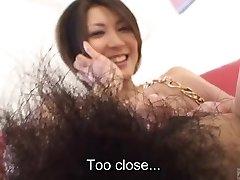 Subtitled Japanese amateur brilliant bush naked body check