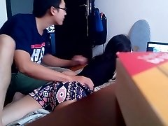 Vietnamese BOYFRIEND's hidden cam for nothing