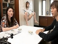Man sates hot pretty girls