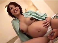 prego Japan woman still gets bang part 2