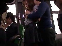 Hottest Japanese model Nana Konishi in Awesome Gangbang, Pantyhose JAV clip