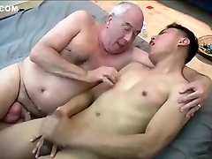 Amazing homemade gay pinch with Asian, Jerk scenes
