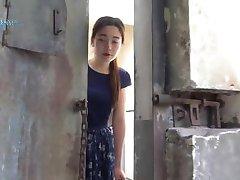 ķīniešu meitene pie cietumā part4