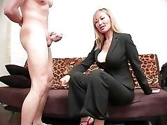 Brutal Femdom Ball Busting 08 - Sequence 4