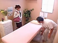 Cute babe gets pulverized hard in voyeur Japanese hump video