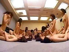 Asian Schoolgirls Lesbian Orgy