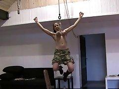 self breast hangin