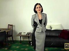 PASCALSSUBSLUTS - Elegant UK Milf Belle OHara submits to dom