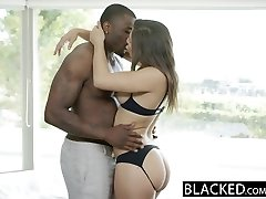 BLACKED Big Rump Girl Abella Danger Adores Big Black Cock