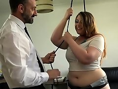 PASCALSSUBSLUTS - English Plus-size Estella Bathory fed dom spunk