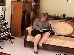 Fat And Wild Granny Wanting A Dick