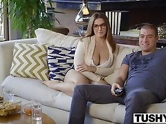 TUSHY Very First Anal Invasion For Curvy Natasha Nice