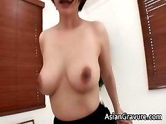 Sexy asian brunette Meguru with big tits part3