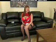 Big Boobs MILF Undressing And Anal Toying