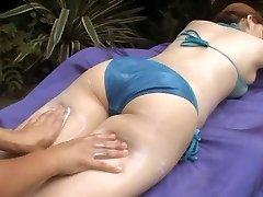 softcore asian bikini massage