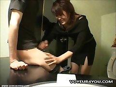 Cabaret Club Restroom Oral Stimulation Sex