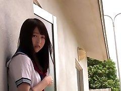 Hetaste Japansk modell Mayu Yukii i Bästa / slickning, högskola JAV scen