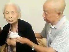 Asian Aged Pair